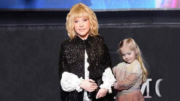 Алла Пугачева вместе с дочерью Лизой