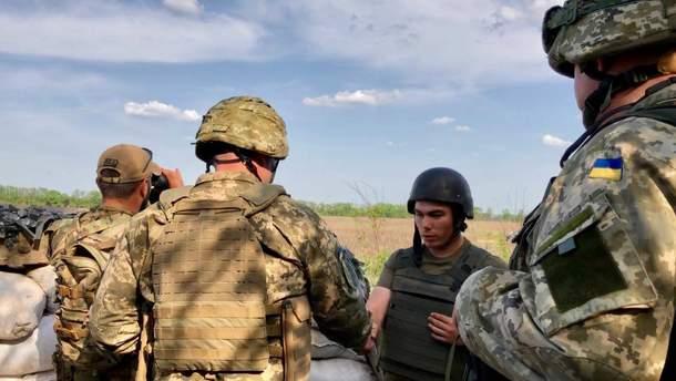 Операции Объединенных сил продолжается на Донбассе