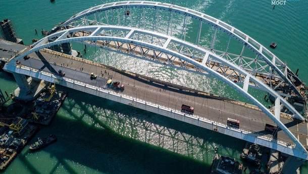 Коли буде відкриття Кримського мосту у травні 2018: ЗМІ назвали дату