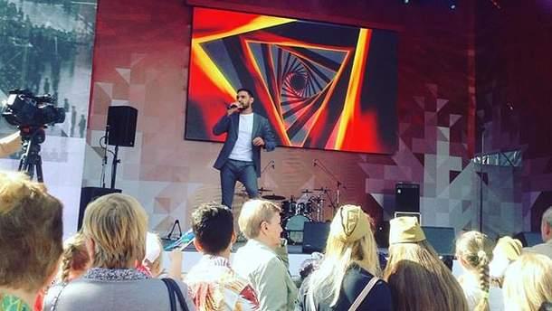 Виталий Козловский выступил 9 мая в Москве