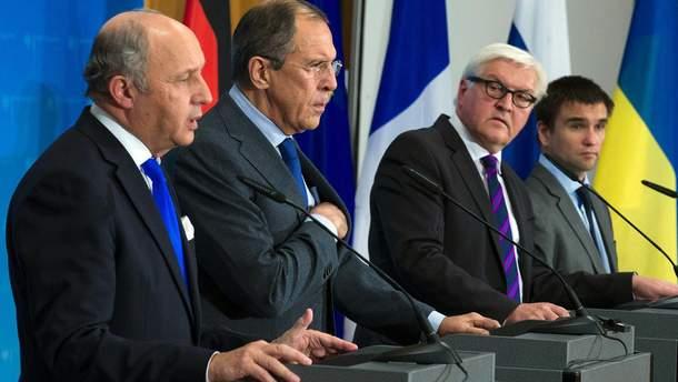 """Россия готова рассмотреть предложение о встрече глав МИД в """"Нормандском формате"""""""