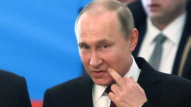 Владимира Путина на встречу