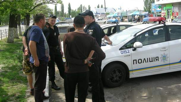 В Николаеве пьяные военные начали стрельбу на вокзале