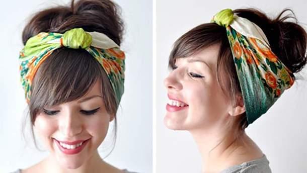 Как завязать платок на голове: пошаговые советы блогеров