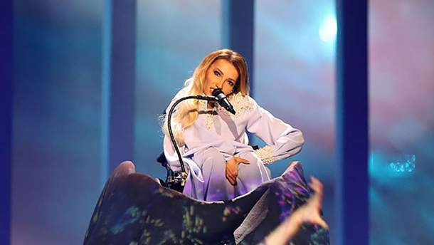 Юлия Самойлова на Евровидении-2018