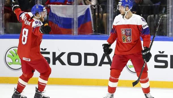 Чехия победила Россию на Чемпионате мира по хоккею