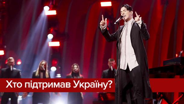 Євробачення 2018: хто голосував за Україну