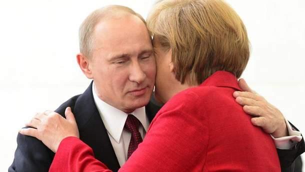 В Германии состоялась встреча Порошенко, Меркель и Макрона без Путина