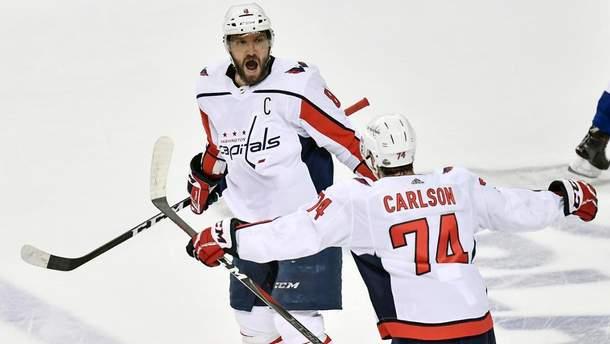 """""""Вашингтон"""" переміг у першому матчі фіналу Східної конференції NHL"""