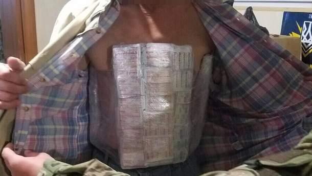 Украинец хотел перевезти на себе лекарства в оккупированный Донецк
