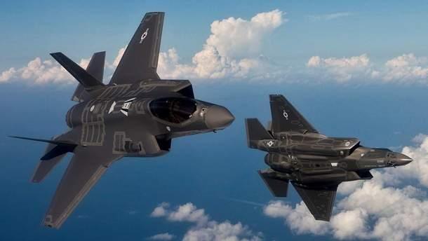 Истребители США перехватили российские бомбардировщики