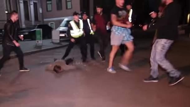 У Києві сталася масова бійка