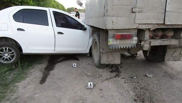 На Хмельниччині внаслідок ДТП постраждало четверо пасажирів