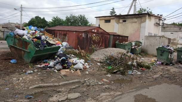 Аннексированный Крым имеет большие проблемы с утилизацией мусора