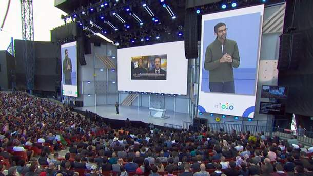Конференція Google I/O 2018