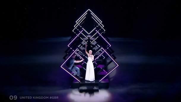 Евровидение 2018: неизвестный выбежал на сцену