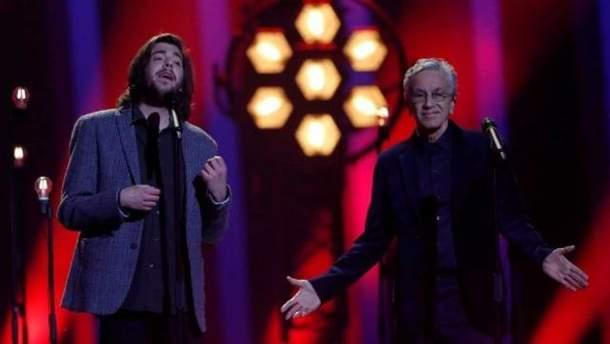 Финал Евровидения 2018: Сальвадор Собрал спел в дуэте с Каэтану Велозу