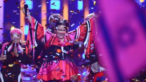 Нетта після перемоги на Євробаченні-2018