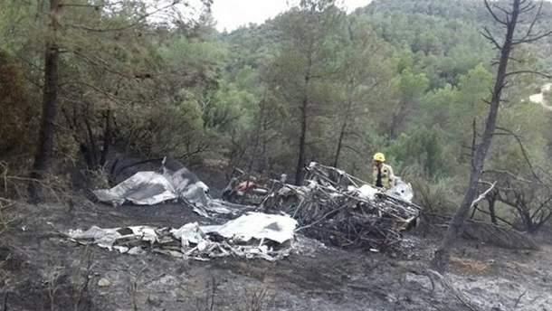 В Испании разбился самолет: есть жертвы