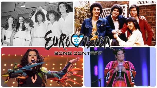 Израиль на Евровидении: видео выступлений всех победителей