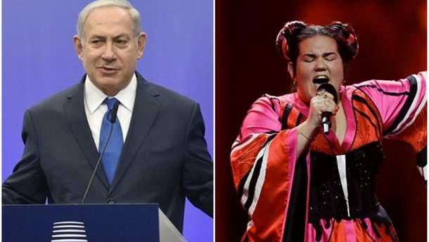 Реакция Нетаньяху на победу Нетты на Евровидении 2018