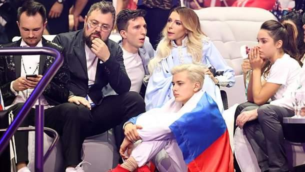 У Росії вважають, що Самойлова провалилась на Євробаченні 2018 через Україну