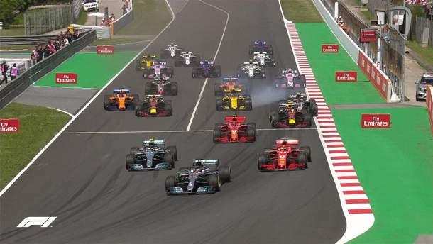 Гран-при Испании Формулы-1 выиграл Хэмилтон Льюис