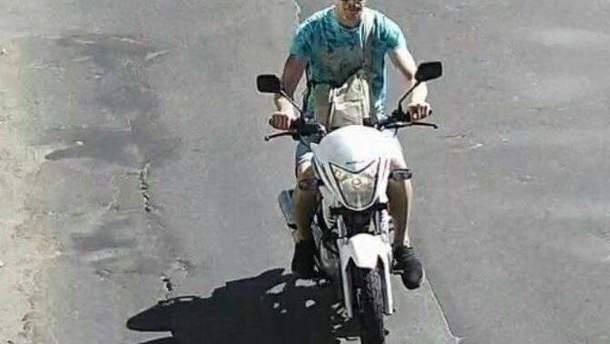 """Угонщик мотоцикла Найема рассказал, почему """"соблазнился"""" на мотоцикл Найем"""