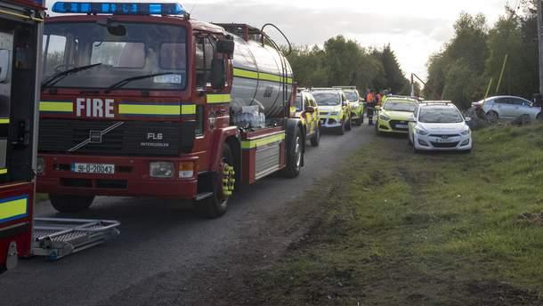 Самолет разбился в Ирландии