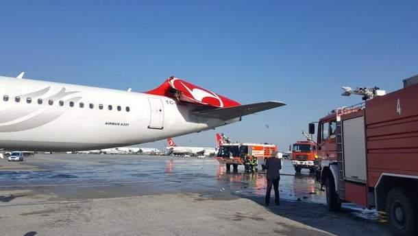 Самолеты столкнулись в аэропорту Стамбула