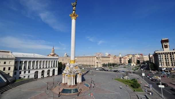 В Киеве перекрыли Крещатик до конца мая