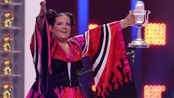 У победительницы Евровидения 2018 Нетти Барзилай сломалась главная награда конкурса