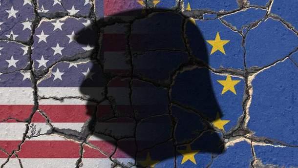 Картинки по запросу евросоюз против сша