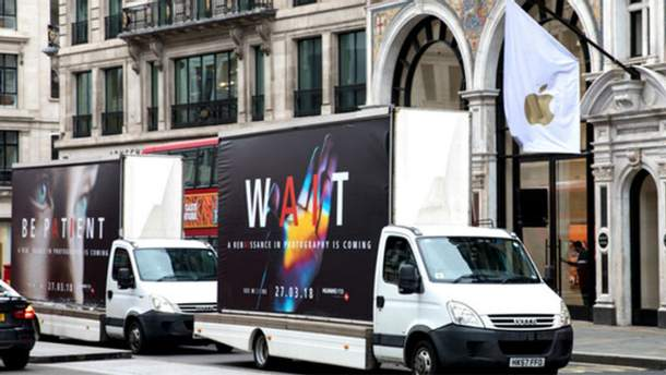 Реклама Huawei P20 і Huawei P20 Pro у Британії