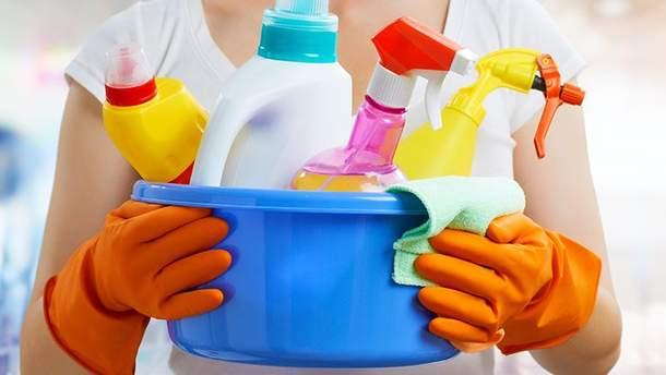 Чим небезпечні мийні засоби для здоров'я