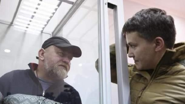 Савченко зізналась, що навряд чи буде у списку на обмін полоненими