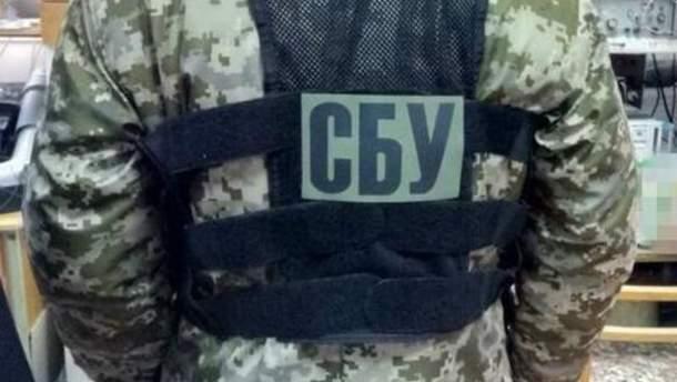 В Харькове СБУ задержала торговцев оружием из зоны ООС