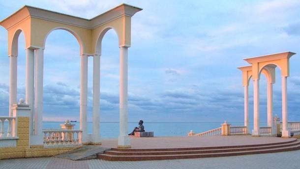 Окупована Євпаторія стала побратимом французькому місту Мариньян