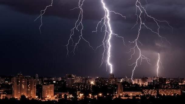 В Киеве до конца суток объявили штормовое предупреждение