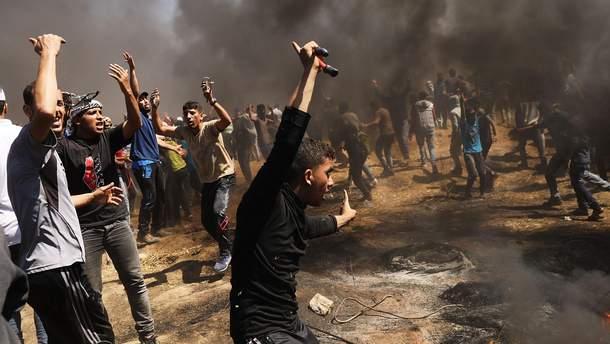 Внаслідок протестів через відкриття посольства США у Єрусалимі щонайменше 37 загиблих