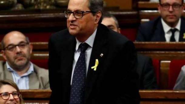 Премьер-министр Каталонии Ким Торре