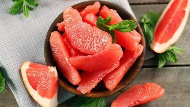 Грейпфрут уменьшает уровень тревоги