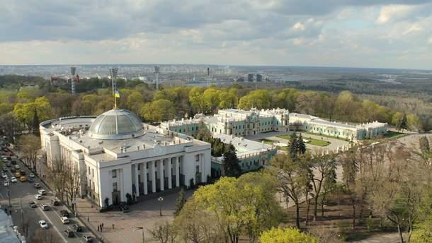 Купол Верховной Рады отреставрируют