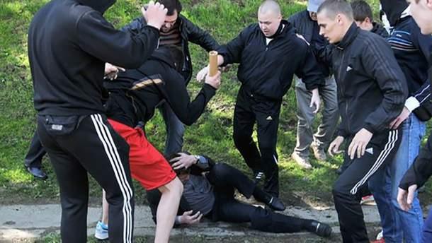 В Санкт-Петербурге шесть человек руками и ногами забили до смерти украинца (иллюстративное фото)