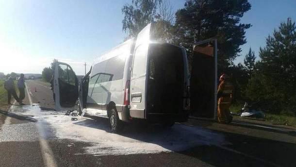 Авария с детьми в Беларуси произошла в Каменке, недалеко Бреста