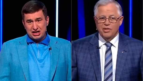 Марков і Симоненко поскандалили в ефірі росТБ
