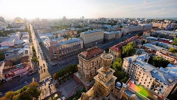 Оглядові майданчики і відкриті дахи Києва: фото і ціни