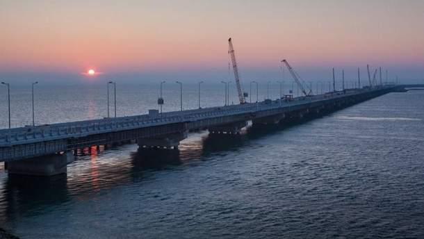 Открытие Керченского моста
