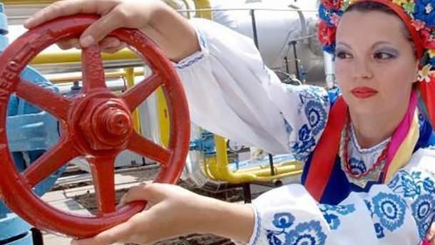 Украина не импортирует газ напрямую из России