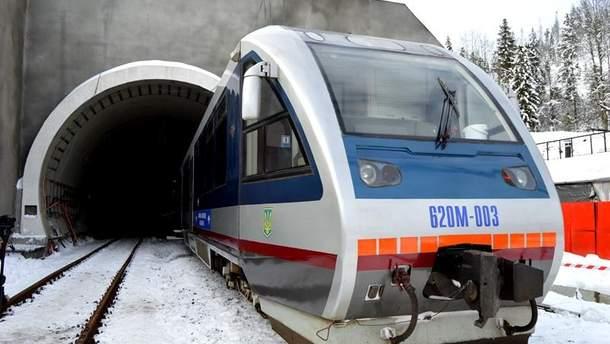 Бескидский тоннель начнет работу в конце мая 2018